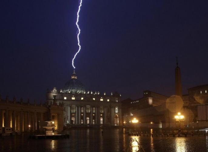 Abominium desolationis propter Bergoglium