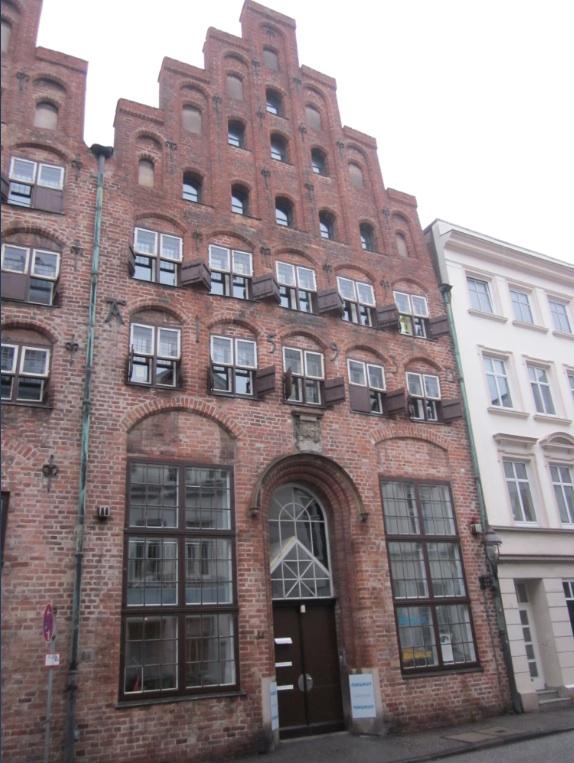 Europa.Germania.Schleswig-Holstein.Lubecca.Casa in stile baltico2