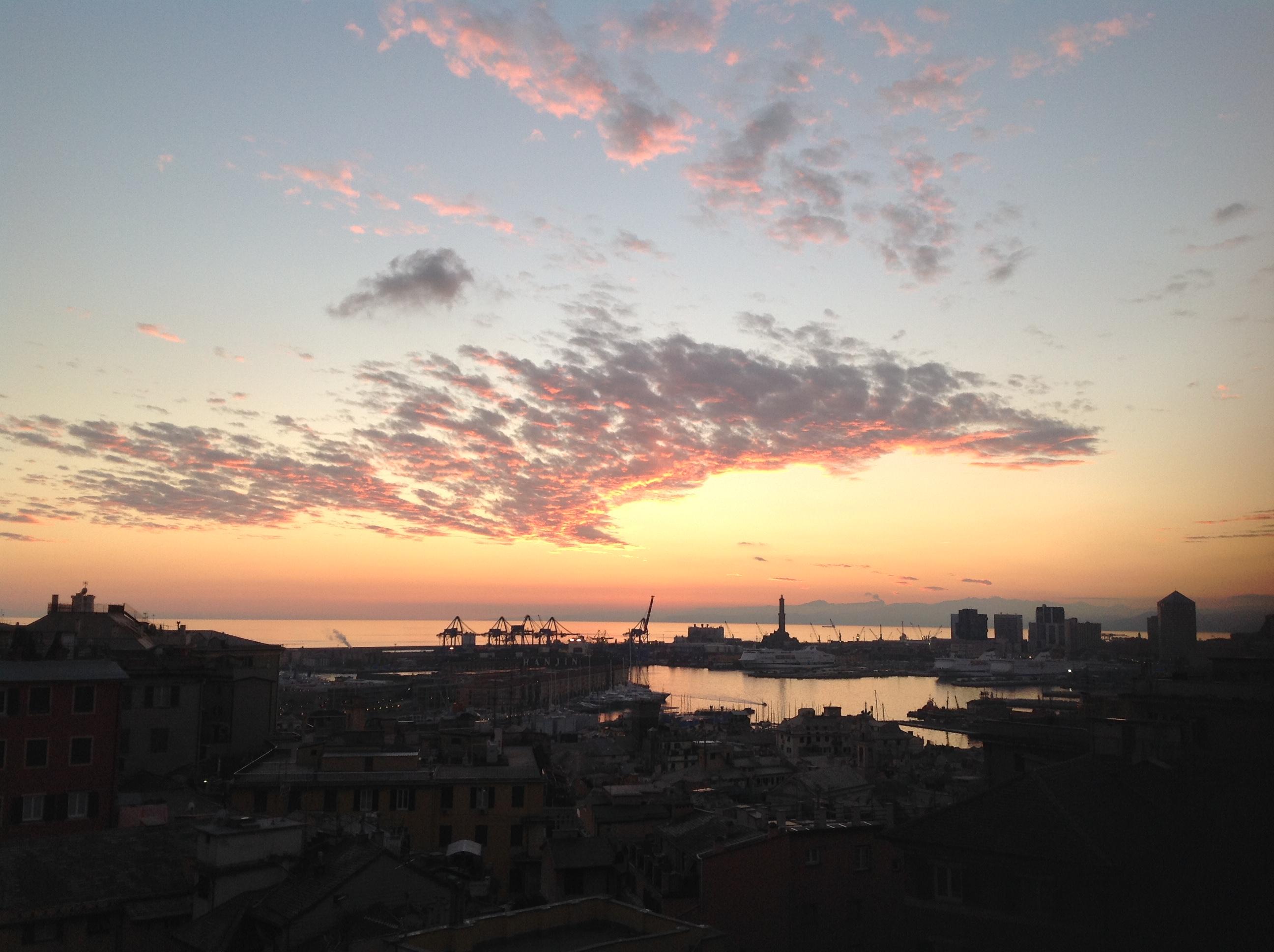 Europa.Italia.Genova da casa nostra