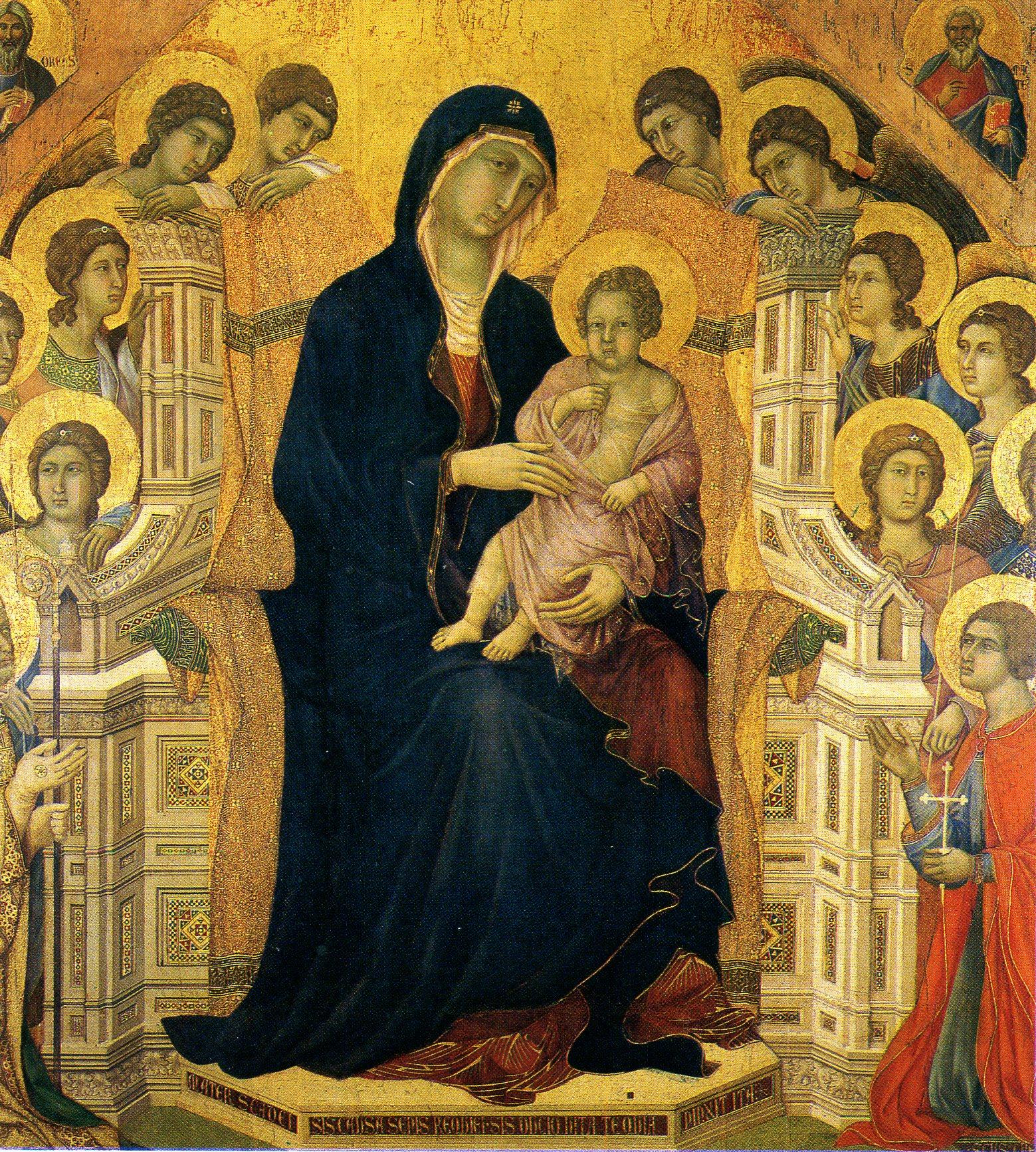 Maest di Duccio copia