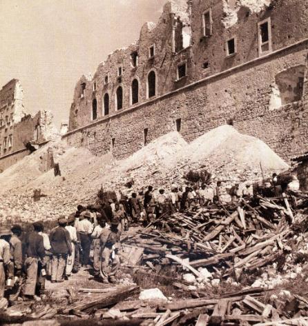 Montecassino 15 febbraio 1944